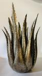 Dekoobjekt Agave gold antik ohne Beleuchtung  1
