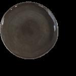 "runder Teller ""Pure"" Ø32cm grau 1"