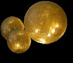 Lightball AM Design - gold antik 30 cm 1