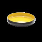Metallschale VICC schwarz/gelb 36 x 7 cm 1