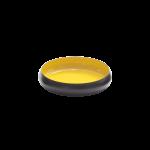 Metallschale VICC schwarz/gelb 26 x 7 cm 1