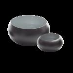Metallschale VIM schwarz/grau  1