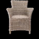 Rattan-Stuhl Fidel und Auflage  1