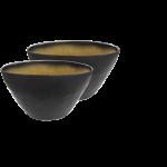 """Schale """"Pure"""" oval,  Keramik geflammt  1"""
