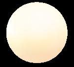"""Designleuchte """"Snowball"""" - satinierte Oberfläche, ortsveränderlich 30/40/50 cm - 3er Set 1"""