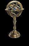"""Globus """"Sphärisch"""" - Bronze Armillary Dial  1"""