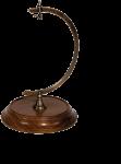 AM - Ständer für Taschenuhren Holzbasis  1