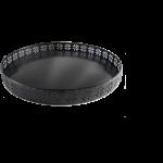 Metall-Tablett ODESSA, schwarz  1
