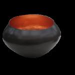 Teelichthalter BELA kupfer/kupfer H 22 x D 15 cm 1