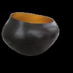 Teelichthalter BELA kupfer/gold H 22 x D 15 cm 1