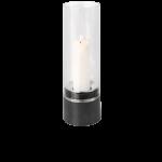 Blomus PIEDRA - Windlicht mit Kerze, Edelstahl 47 x D16 cm 1