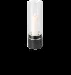 Blomus PIEDRA - Windlicht mit Kerze, Edelstahl 33 x D12 cm 1
