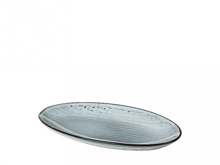 "Ovale Platte S ""Nordic Sea"""
