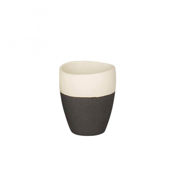 Espressobecher aus Steingut der Esrum Serie