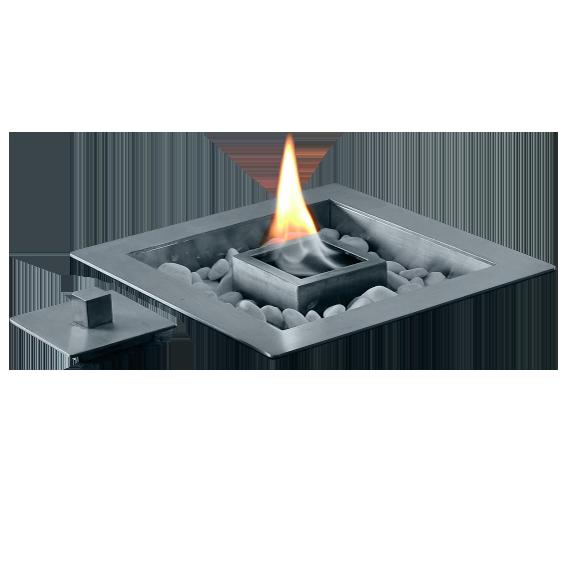 Feuerstelle QUADO, Tischeinsatz