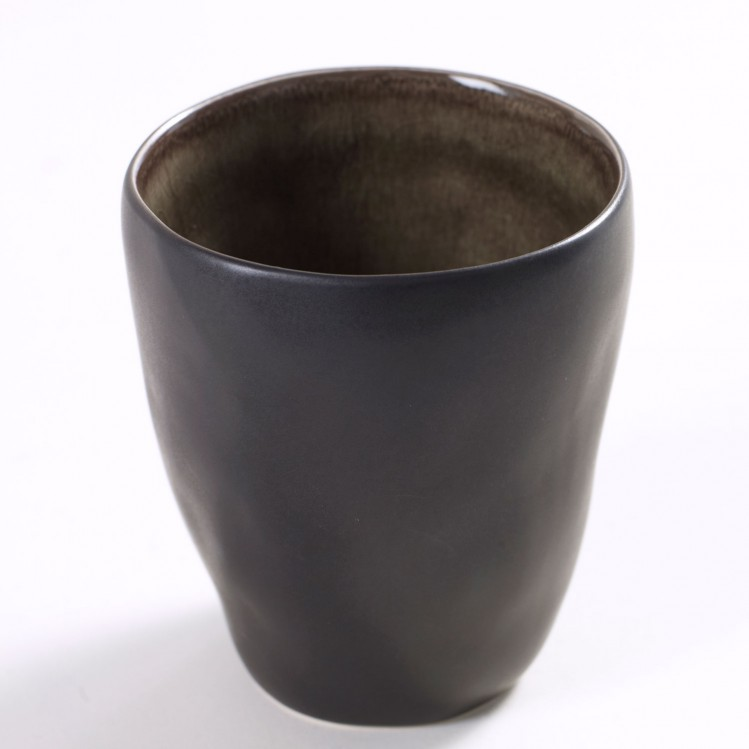"""Trinkbecher """"Pure"""" Ø7,5cm grau"""