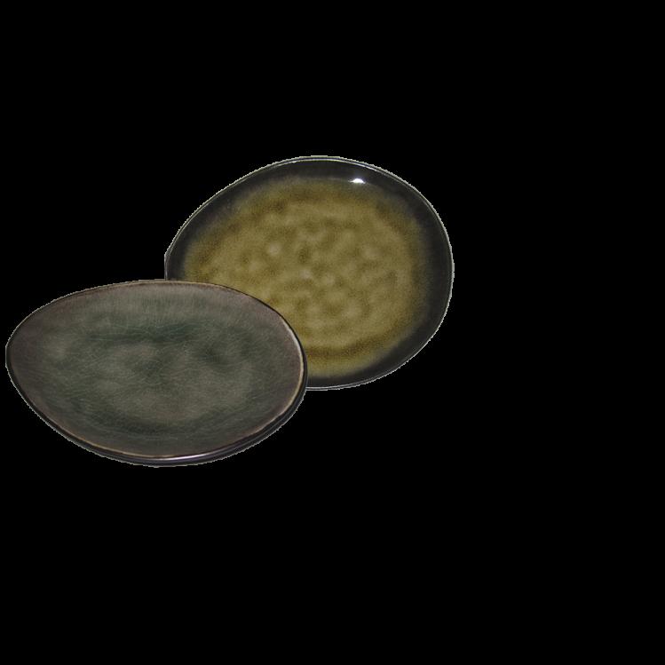 """ovaler Teller """"Pure"""" Ø 16,5 cm"""