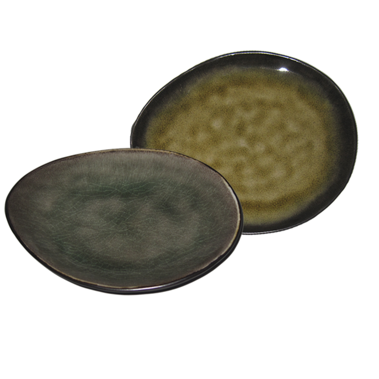 """ovaler Teller """"Pure"""" Ø 14,5 cm"""
