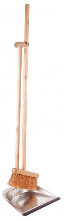 Stehkehrgarnitur Holz/Metall