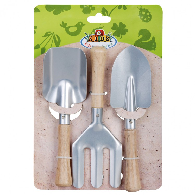 Kinderwerkzeug 3er Set Zink