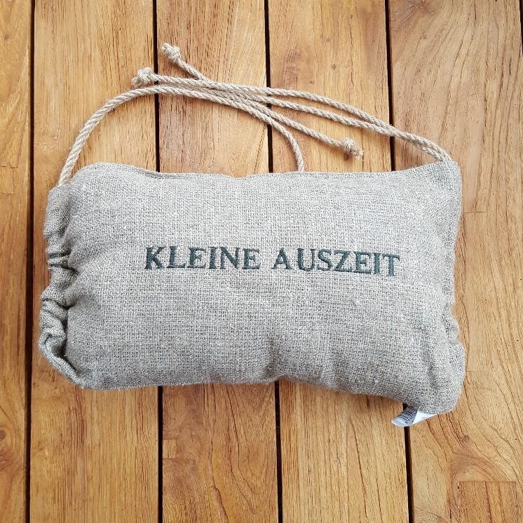 """Liegestuhlkissen """"Kleine Auszeit"""""""