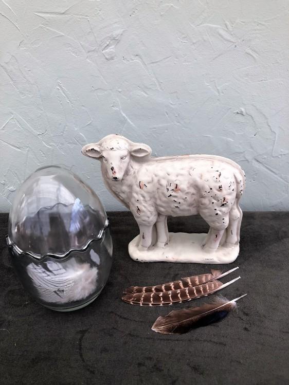 Lamm mit Glasei