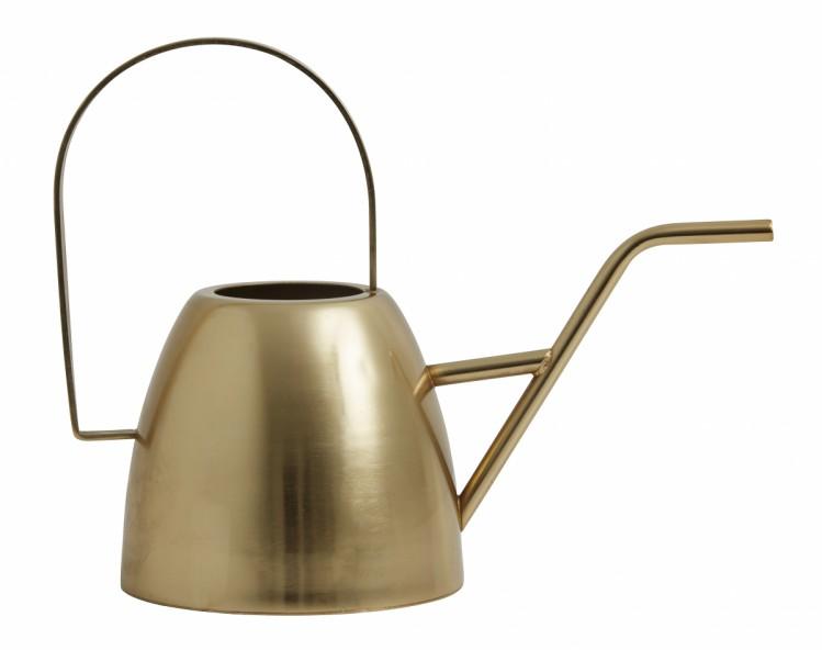 Nordal Gießkanne gold Messing 1,0Liter