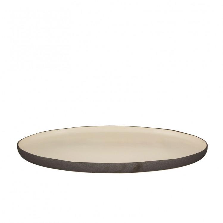 """Ovale Platte """"Esrum"""" 2 Größen mittel"""