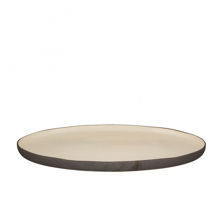 "ovale Platte ""Esrum"" mittel"