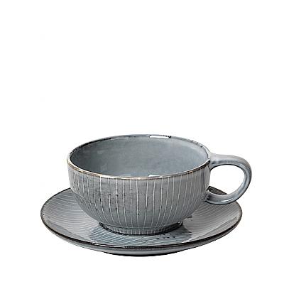 """Tasse mit Untertasse Tee """"Nordic Sea"""""""
