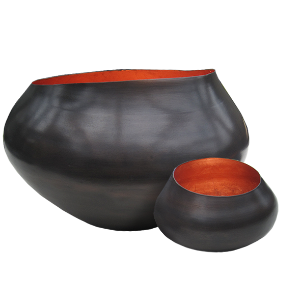 Teelichthalter BELA kupfer/kupfer