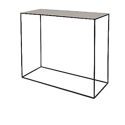 Tisch 'Freja' Eisen/Emaille