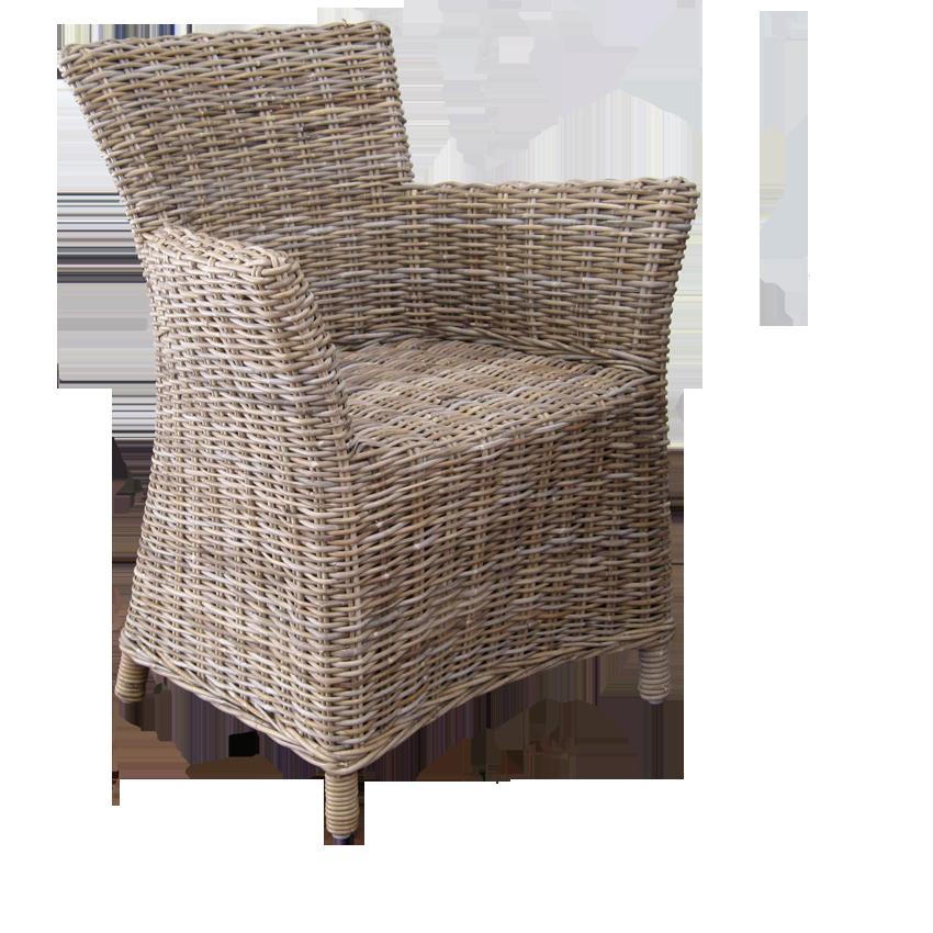 rattan stuhl fidel und auflage das glashaus. Black Bedroom Furniture Sets. Home Design Ideas