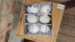 Hühnereier bemalt 6er Box, 3fach sortiert  2
