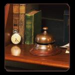 Schreibtischglocke / Rezeptionsklingel  2