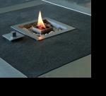 Feuerstelle QUADO, Tischeinsatz  2