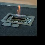 Feuerstelle RECTA, Tischeinsatz  2