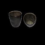 """Trinkbecher """"Pure"""" Ø7,5cm grau 2"""