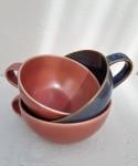 Tasse Keramik rosé rot S  2