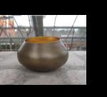 Teelichthalter BELA gold/gold  2