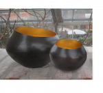 Teelichthalter BELA kupfer/gold  2