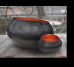 Teelichthalter BELA kupfer/kupfer  2