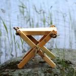 """Tisch """"Lilly"""" in verschiedenen Holzarten Lärche natur 2"""