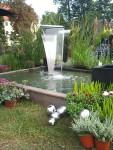 Wasserspiel Bend, Edelstahl  2