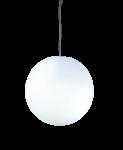 """Designleuchte """"Snowball"""" - satinierte Oberfläche zum Hängen 40 cm 1"""