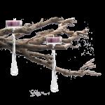 """6 Teelichthalter """"Mario"""", klarglas für Weihnachtsbaum  3"""