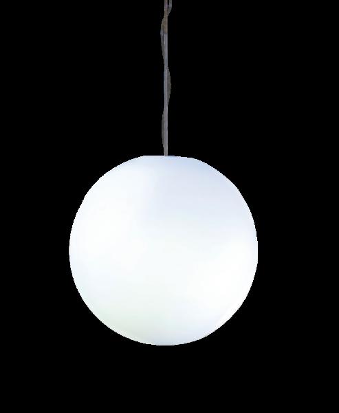 """Designleuchte """"Snowball"""" - satinierte Oberfläche zum Hängen 30 cm"""